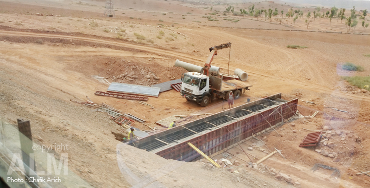 Désaturation du carrefour ferroviaire de Casablanca : Les travaux progressent à hauteur de 70%