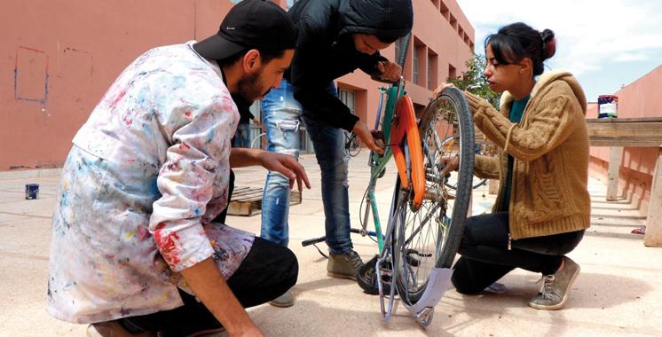 En marge de la COP22: Pikala Bikes promeut la mobilité durable