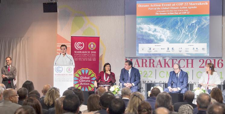 SAR la Princesse Lalla Hasna soutient l'initiative marocaine «Ceinture Bleue»