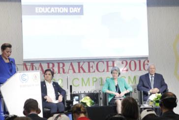 COP22 : SAR la Princesse Lalla Hasnaa préside la cérémonie d'ouverture de la journée de l'Education