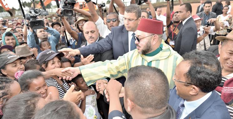 SM Mohammed VI : «Je porte au cœur une fierté toujours plus forte d'être Africain»