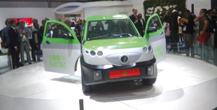 La SNTL lance le 1er pick-up électrique au monde