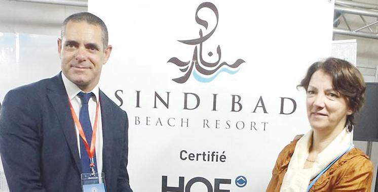 Distinction : Sindibad Beach Resort certifié  Haute Qualité Environnementale