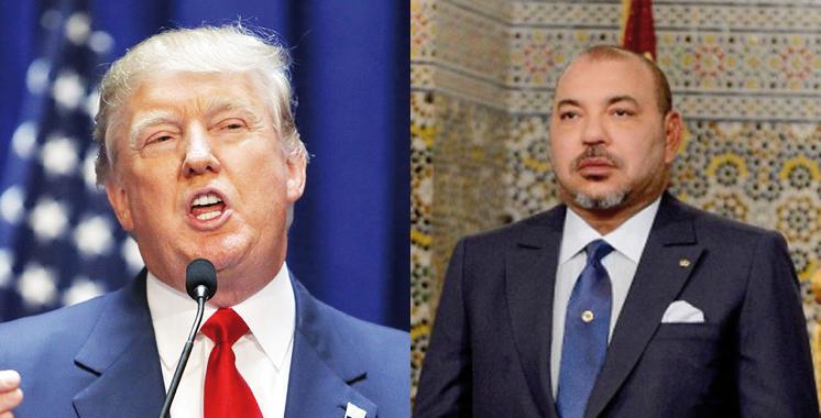 Entretien téléphonique entre SM le Roi et M. Donald Trump, Président-élu des Etats Unis d'Amérique