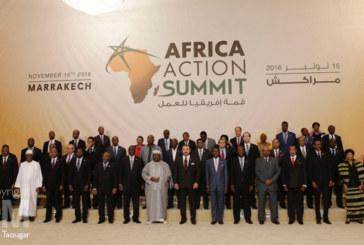 Les chefs d'Etat africains confient à SM le Roi l'exécution de la Déclaration de l'»Africa Action Summit»
