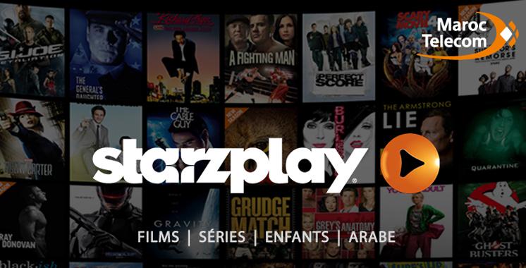 Service de vidéo à la demande : Starz Play disponible chez Maroc Telecom