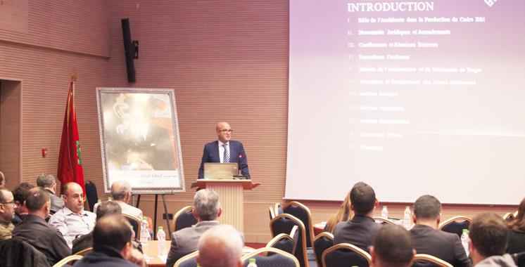 Tanger : Les architectes face au défi des nouvelles réglementations