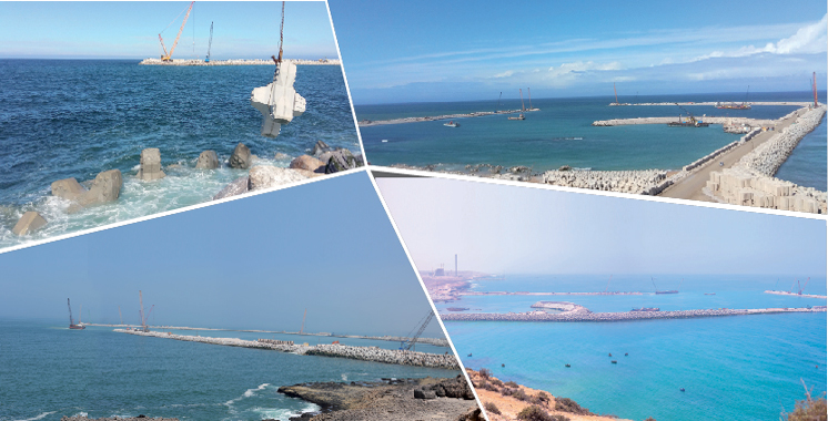 Le projet avance à hauteur de 60%: 4 milliards de dirhams pour relooker le port de Safi