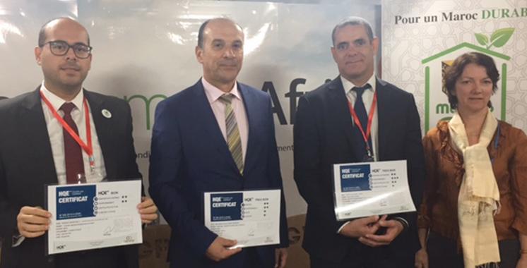 Certification environnementale: Trois opérateurs marocains s'illustrent