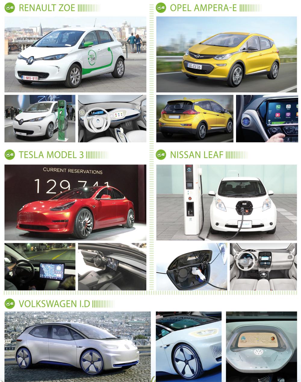 voitures-electriques-renault-zoe-opel-ampera-e-tesla-model-3-nissan-leaf-volkswagen-i-d
