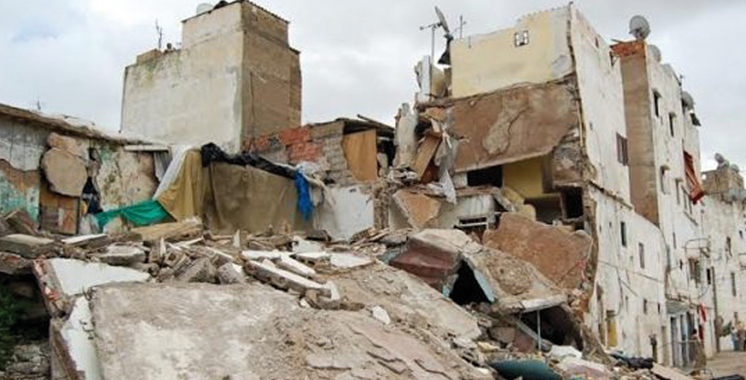 Effondrement du mur d'une maison menaçant ruine à Salé: Un enfant mort et un autre  subit des fractures