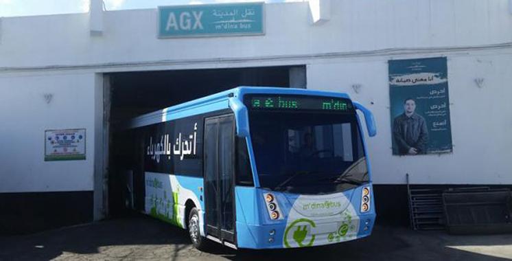 Casablanca: «M'dina ebus», le 1er bus 100% électrique