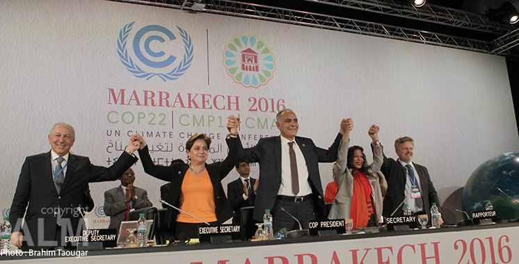 COP22: La Proclamation de Marrakech adoptée par toutes les parties