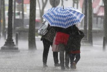 Alerte météo : Fortes averses orageuses  dans plusieurs régions