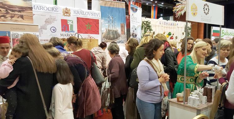 Grand succès du stand marocain au Bazar diplomatique de  bienfaisance à Varsovie