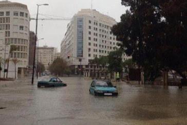 Alerte météo : Tanger inondée par les premières averses