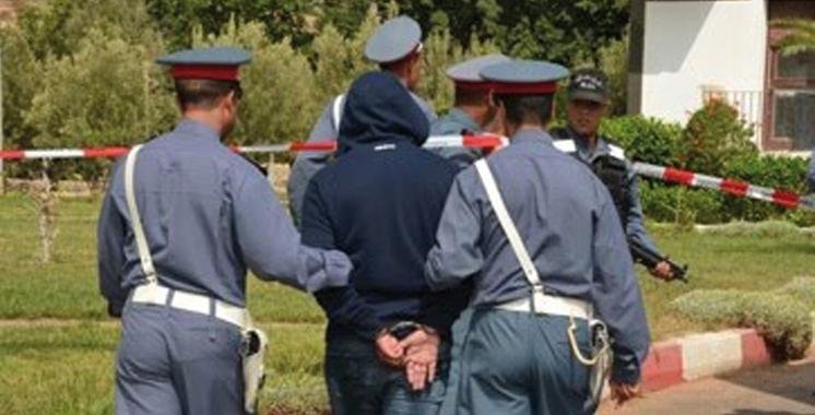 Drarga : Le chef d'une bande malfrats arrêté en possession d'un sabre de 80 cm
