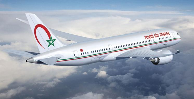 Royal Air Maroc :  57.739 passagers transportés en deux jours seulement