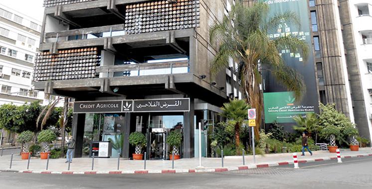 Crédit Agricole du Maroc, meilleure institution de financement du développement