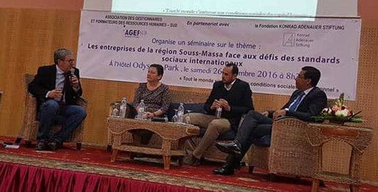 Souss-Massa : Les entreprises veulent se hisser  en entités citoyennes et responsables