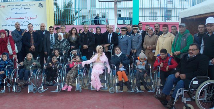 Al Ajial Holding et Association Amal s'allient : Un ensemble de matériels orthopédiques distribué à Casablanca