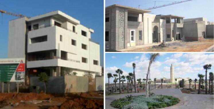 Les chantiers d'Al Omrane Tamesna en 2017