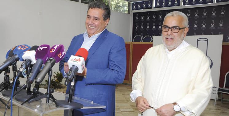 Gouvernement : Le RNI, l'UC et le MP discutent l'offre de Benkirane