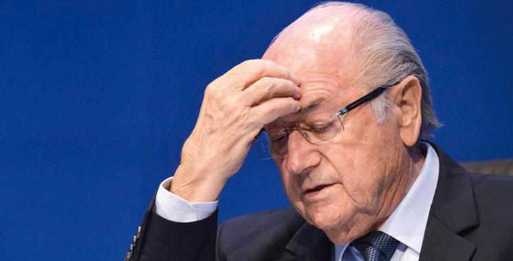 FIFA : La suspension de toute activité liée  au football maintenue contre Blatter