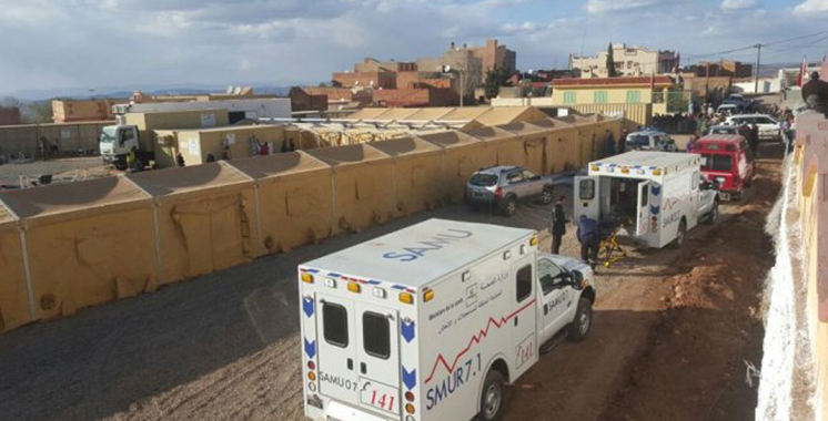 Province d'Azilal : Campagne médicale pluridisciplinaire au profit de plus de 2.900 habitants d'un douar
