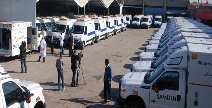 Province de Khénifra: 8.644 bénéficiaires des prestations de l'hôpital de campagne mobile installé au cercle de Lakbab