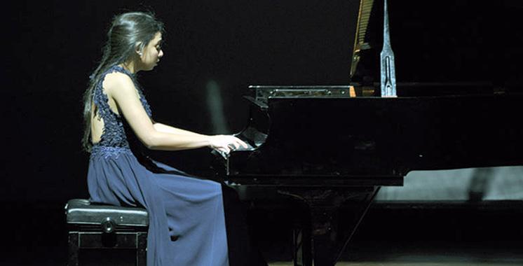 Concours international  de piano SAR  la Princesse  Lalla Meryem :  Une Marocaine au sommet
