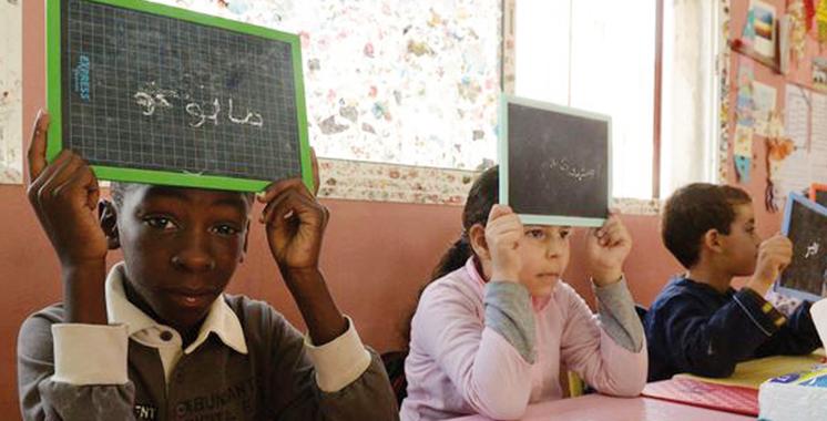 Les enfants de migrants intégrés dans les écoles