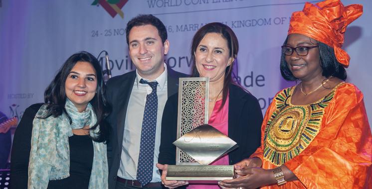 Cooper Pharma reçoit le trophée «Great Africa»