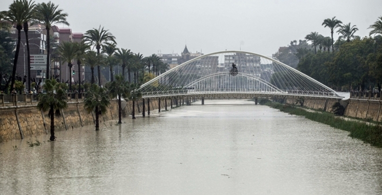Espagne : plus de 350 personnes sauvées des intempéries