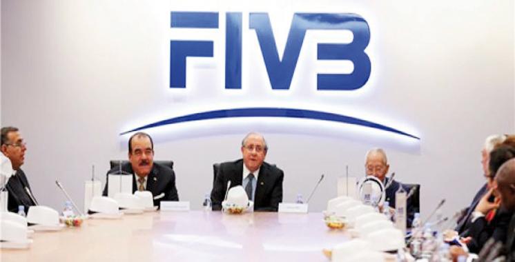 Volley-ball: La réunion du comité exécutif de la FIVB en mai 2017 à Marrakech