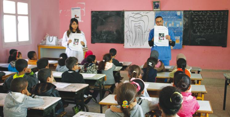 Sensibilisation à la santé buccodentaire: La fondation Phosboucraa s'y immerge