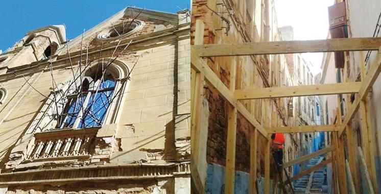 Larache : Opération de réhabilitation de l'Eglise San José