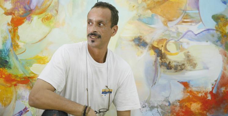 Mansouri Idrissi à la Villa des arts de Casablanca