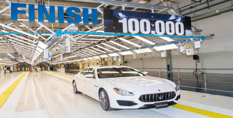 Giovanni Agnelli expose 100.000 voitures signées Maserati