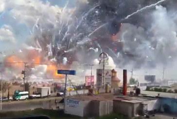 Mexique : Une Impressionnante explosion sur un marché de feux d'artifice fait au moins 27 morts