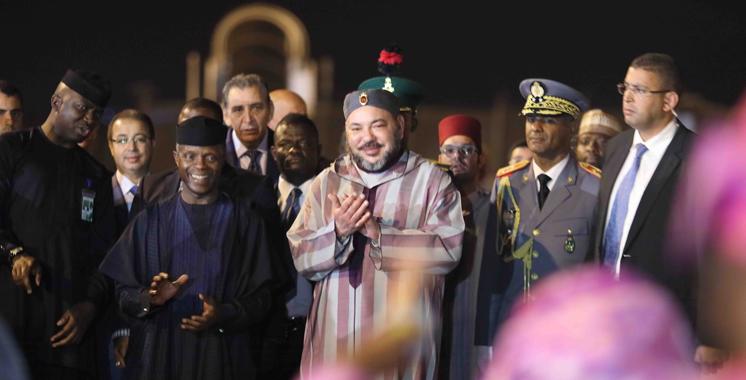 Nigéria : Cérémonie d'accueil officielle de SM le Roi à Abuja