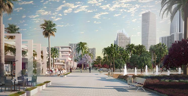Un centre de loisirs et de commerce de 4 hectares au cœur de Casablanca
