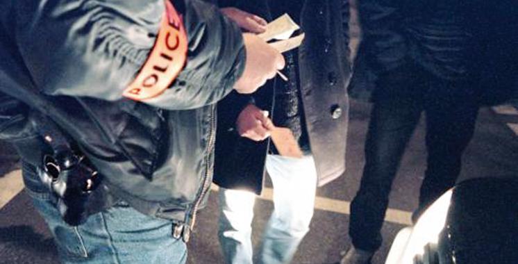 Un policier use de son arme pour  neutraliser un repris de justice à Salé