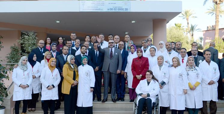 SM le Roi inaugure le Centre des consultations externes du CHU Mohammed VI de Marrakech