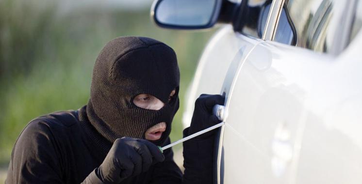 Laâyoune : Un voleur de voitures et  7 autres malfrats mis sous les verrous