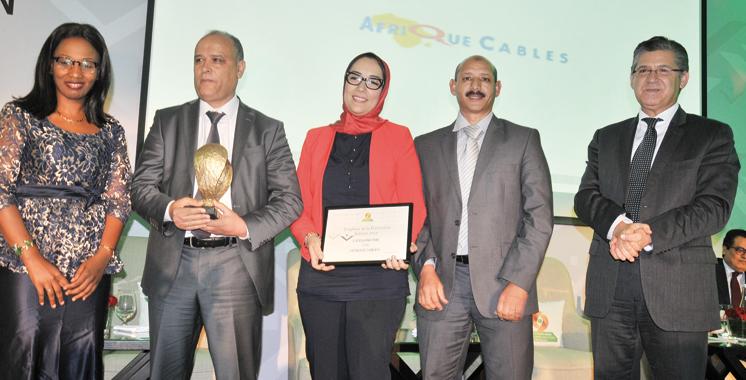 Trophées de la prévention : Afrique Câbles remporte le 1er prix