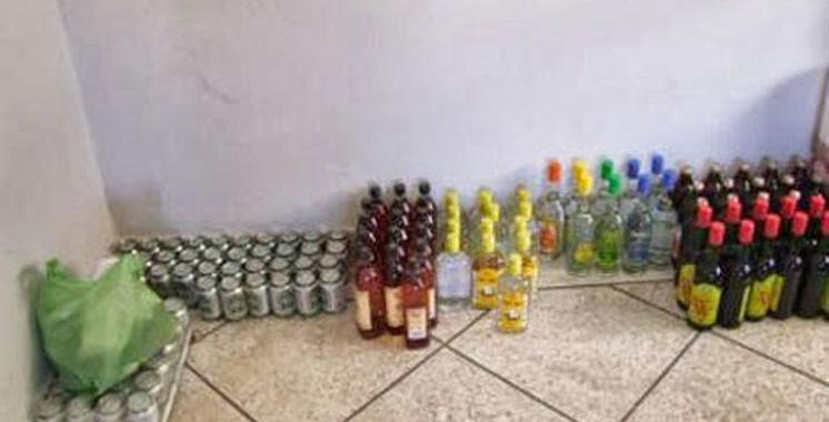 Casablanca : Fabrication de  boissons alcoolisées et falsification de timbres de la douane