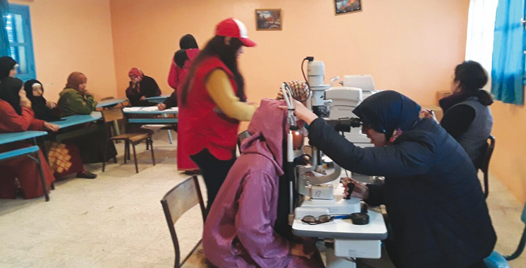 Action humanitaire : Une caravane médicale à la zaouia de Sidi Kacem