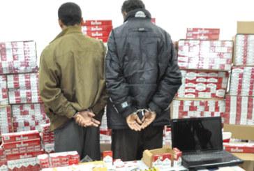 Tanger Med : 2.460 paquets de cigarettes dissimulés dans une voiture