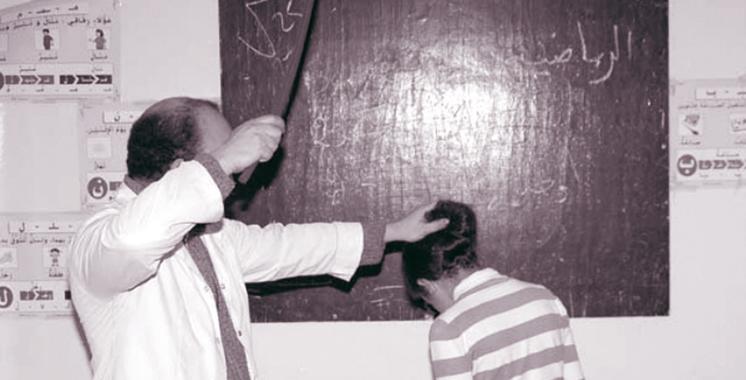 La punition dans les écoles est toujours d'actualité